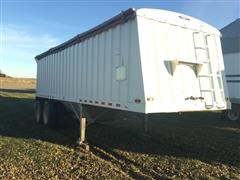 2001 Jet Co 26 T/A Grain Trailer