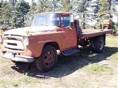 1957 International A150 Flatbed Truck