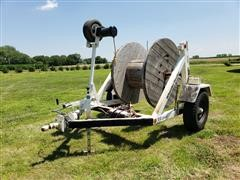 1998 Slabach Cable Reel Trailer