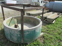 Cushing Concrete Water Tank & Troughs