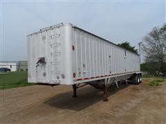 1983 J&L Double Hopper Grain Trailer