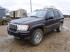2004 Jeep Grand Cherokee 4x4 SUV