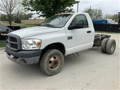 2007 Dodge Ram 3500 Heavy Duty Cab & Chassis Pickup