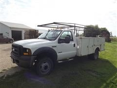 2006 Ford F550 XL Super Duty 2WD Service Truck