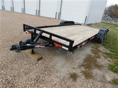 2020 East Texas Longhorn T/A Bumper Pull Car Trailer