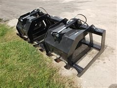 2019 Brute Brush Grapple Skid Steer Attachment