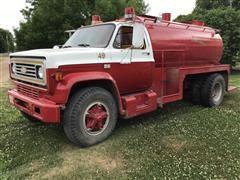 1983 Chevrolet C70 Tanker Truck