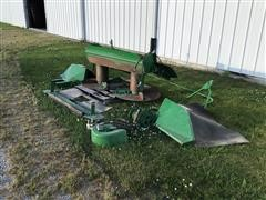 John Deere 9870 Straw Spreader