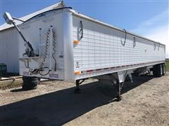 1995 Wilson DWH400 Pacesetter T/A Grain Trailer W/Hyd Traps