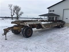 1973 Hyster T/A Lowboy Trailer