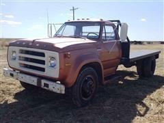 1975 Dodge 600 Flatbed Truck