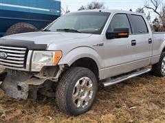 2010 Ford F150 XLT 4x4 Crew Cab Pickup