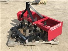 Mahindra 5' Box Scraper & Quick Hitch