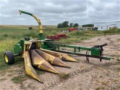 John Deere 3970 Forage Harvester & Header