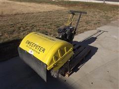 Sweepster Self Propelled Walk Behind Sweeper