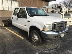 2004 Ford F450 XL Super Duty Crew Cab & Chassis