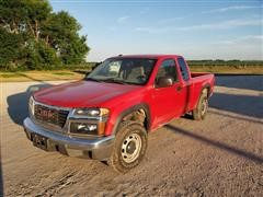 2008 GMC Canyon 4x4 Extended Cab Pickup
