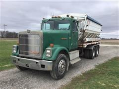 1986 International F9370 T/A Fertilizer Tender Truck