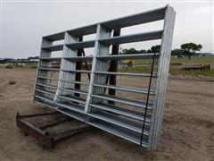 Behlen Mfg Galvanized Elk Gates