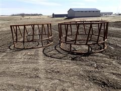 Wolles 8' Heavy Duty Round Bale Feeder