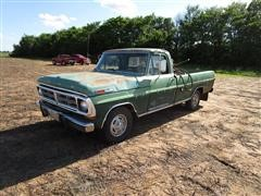 1972 Ford F150 XLT 2WD Long Bed Pickup