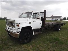 1973 Chevrolet C65 Flatbed Dump Truck