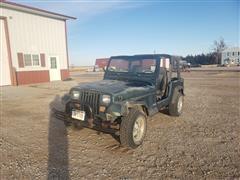1995 Jeep Wrangler 4x4 SUV