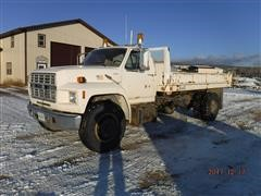 1985 Ford F7000 S/A Dump Truck