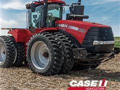 2019 Steiger 420 4WD CVXDRIVE Tractor 100 Hour Lease