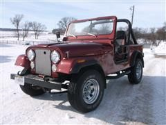 1985 American Motors CJ 7 4WD Jeep