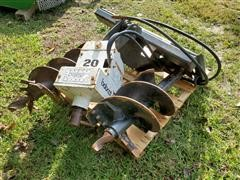 Bobcat 20 Auger Attachment & Augers For Skid Steer