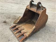 """36"""" Toothed Excavator Bucket"""