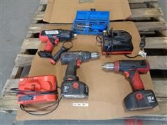 Snap-On 18 V Cordless Drills - Impact Wrenches