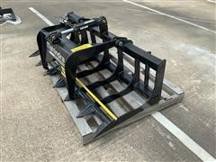 Mahindra 5' Grapple Skid Steer Attachment