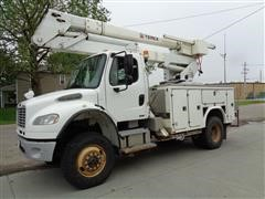 2009 Freightliner Business Class M2 4x4 Bucket Truck W/42' Reach