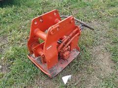 Vibrating Compaction Plate For Excavator/Backhoe