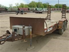1990 Felling FT-12P T/A Flatbed Trailer
