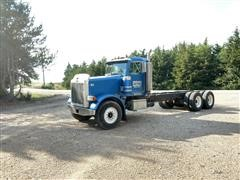 1990 Peterbilt 378 T/A Cab and Chassis
