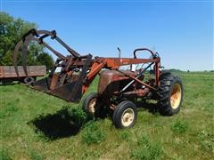 Cockshutt 50 2WD Tractor W/Loader