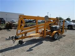2017 Haulotte 4527A Portable Self-Contained 110 Volt Man Lift