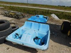 Aqua Mate/Sun Dolphin Mach Two Paddle Boats BigIron Auctions