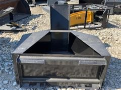 2018 Kit Containers Skid Steer Concrete Chuter (Mud Hopper)