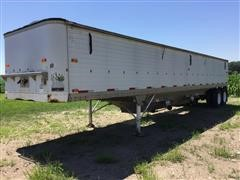 1981 Timpte Super Hopper T/A Grain Trailer