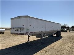 1983 Timpte Super Hopper T/A Grain Trailer