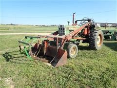 1966 Oliver 1650 2WD Tractor W/Farmhand Loader
