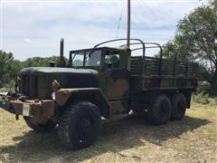 AM General M35A3 6x6 Military Flatbed Truck W/Stake Sides