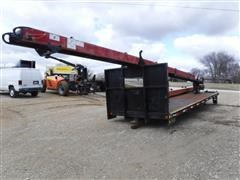 2008 Cleasby FBR6-41 28' Flatbed W/ Shingle Conveyor