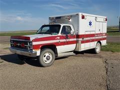 1984 Chevrolet K30 Scottsdale 4x4 Dually Rescue Pickup