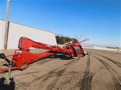 Buhler Farm King 1395 Auger With Hopper Swing
