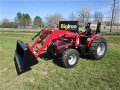 2018 Mahindra 36404FPIL MFWA Compact Utility Tractor W/Loader